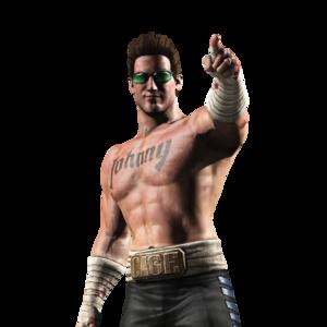 Mortal Kombat Johnny Cage Transparent PNG PNG Clip art