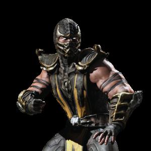 Mortal Kombat Scorpion PNG Clipart PNG Clip art