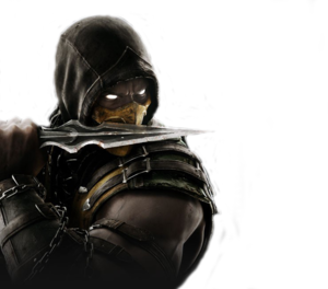 Mortal Kombat Scorpion PNG File PNG Clip art