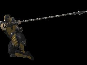 Mortal Kombat Scorpion PNG Free Download PNG Clip art