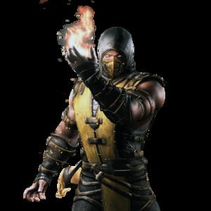 Mortal Kombat Scorpion PNG Transparent Image PNG Clip art