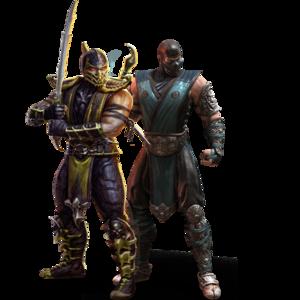 Mortal Kombat Sub Zero PNG Free Download PNG Clip art