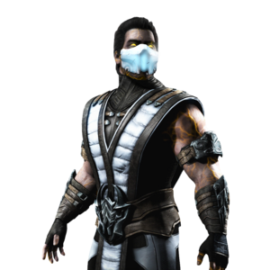 Mortal Kombat Sub Zero Transparent Background PNG Clip art