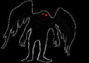 Moth Man PNG File PNG Clip art
