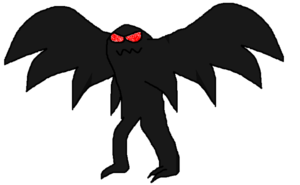 Moth Man PNG Image PNG Clip art