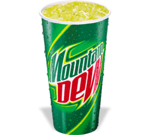 Mountain Dew Transparent PNG PNG Clip art