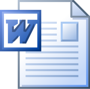 MS Word PNG Free Download PNG Clip art