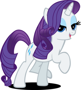 My Little Pony Rarity PNG Pic PNG Clip art