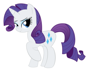 My Little Pony Rarity Transparent Background PNG images