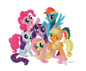 My Little Pony Transparent PNG PNG icon