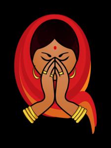 Namaste Transparent PNG PNG Clip art