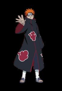 Naruto Pain PNG File PNG Clip art