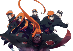 Naruto Pain PNG Pic PNG clipart