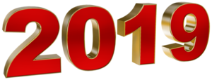 New Year 2019 PNG Pic PNG Clip art