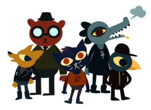 Night In The Woods PNG Clipart PNG Clip art