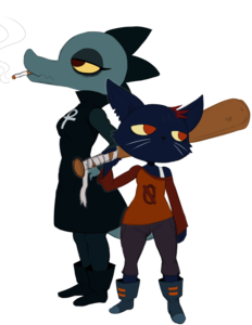 Night In The Woods PNG File PNG Clip art