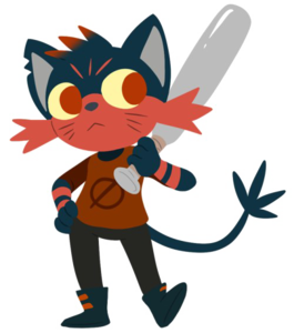 Night In The Woods Transparent PNG PNG Clip art