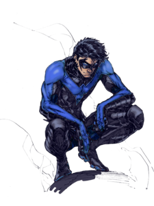 Nightwing PNG File PNG Clip art