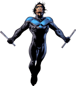 Nightwing PNG Pic PNG Clip art