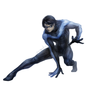 Nightwing PNG Transparent Clip art