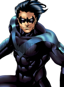 Nightwing Transparent Background PNG Clip art