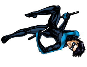 Nightwing Transparent PNG PNG Clip art