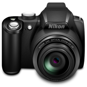 Nikon Camera PNG PNG Clip art