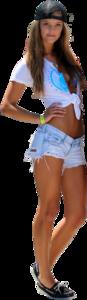 Nina Agdal Transparent Background PNG image