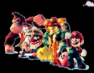 Nintendo Characters PNG Image PNG Clip art