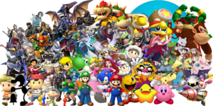Nintendo Characters PNG Pic PNG Clip art