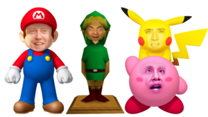 Nintendo Characters PNG Transparent Image PNG Clip art