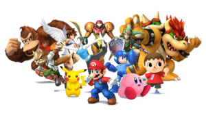 Nintendo Characters Transparent PNG PNG Clip art