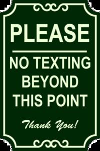 No Texting PNG Clipart PNG Clip art