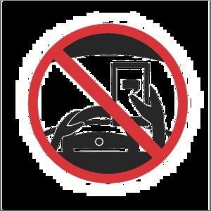 No Texting Transparent Background PNG Clip art