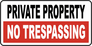 No Trespassing Sign PNG Clipart PNG Clip art