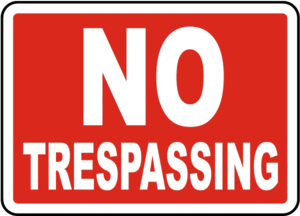 No Trespassing Sign PNG File PNG Clip art