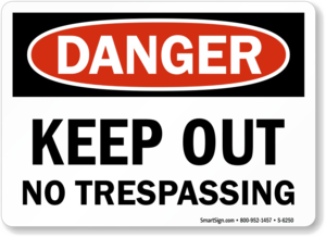 No Trespassing Sign PNG Free Download PNG Clip art