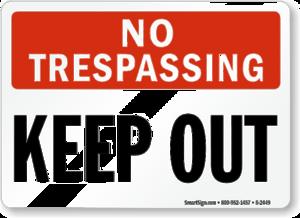No Trespassing Sign PNG HD PNG Clip art