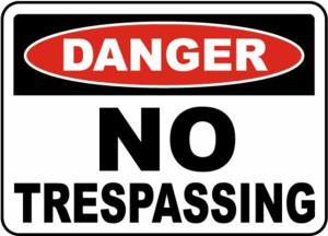 No Trespassing Sign PNG Image PNG Clip art