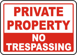 No Trespassing Sign PNG Transparent Image PNG Clip art