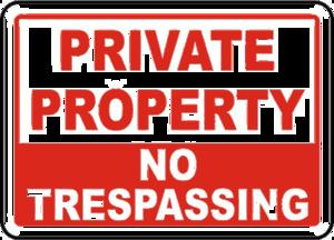 No Trespassing Sign PNG Transparent Image PNG Clip art