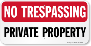 No Trespassing Sign PNG Transparent PNG Clip art