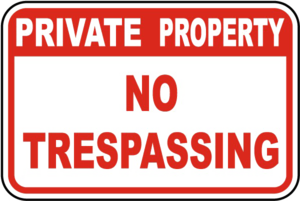 No Trespassing Sign Transparent PNG PNG Clip art