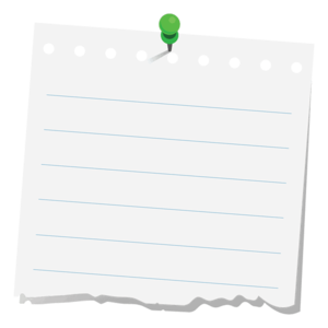 Note PNG Clipart PNG image