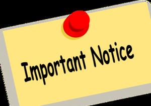 Notice PNG Clipart PNG Clip art