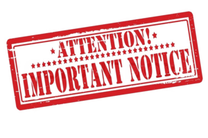 Notice PNG Photo PNG Clip art