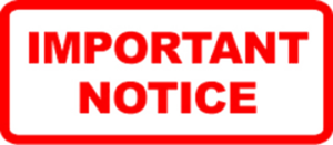 Notice PNG Pic PNG Clip art