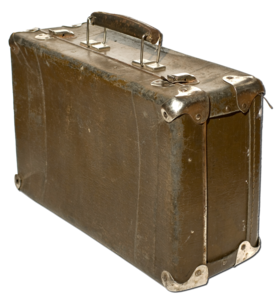 Old Suitcase With Transparent Background PNG PNG Clip art