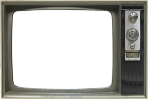 Old TV Screen PNG PNG Clip art