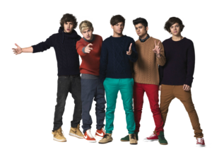 One Direction PNG File PNG Clip art